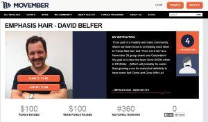 Charity Movember